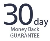 30-day, no-questions-asked, full-money-back guarantee