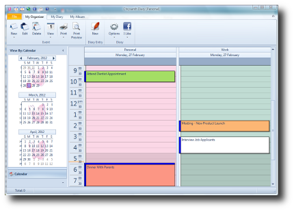Organize your daily tasks and appointments